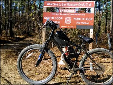 Wambaw Cycle Trail South Carolina Motorcycle And Atv Trails